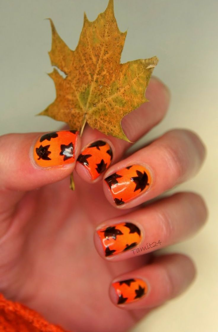 Picture Of trendy and eye catching fall nails ideas  35