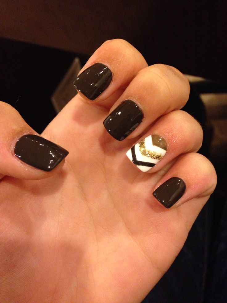 Picture Of trendy and eye catching fall nails ideas  5