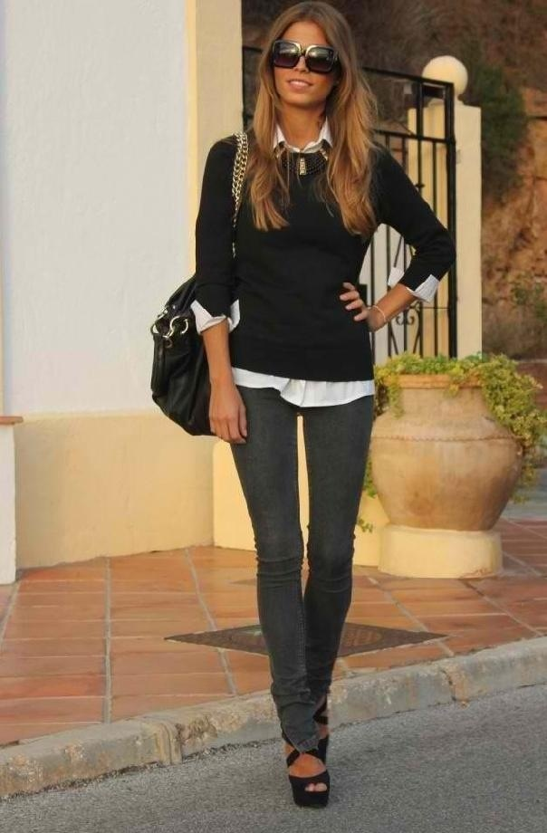 Picture Of trendy back to school outfits  11