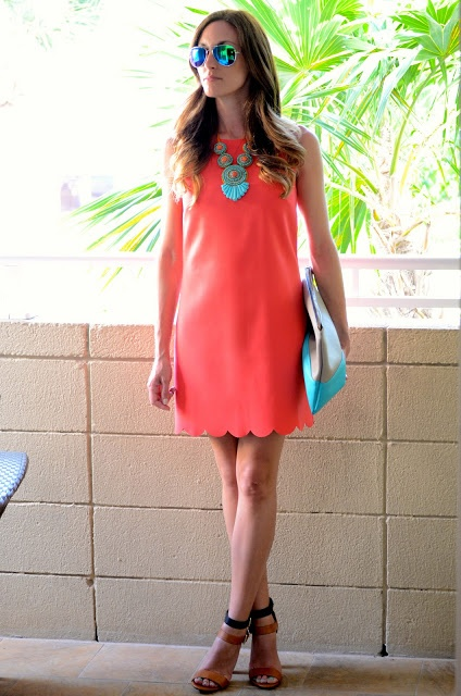 Picture Of trendy bright summer outfits  13