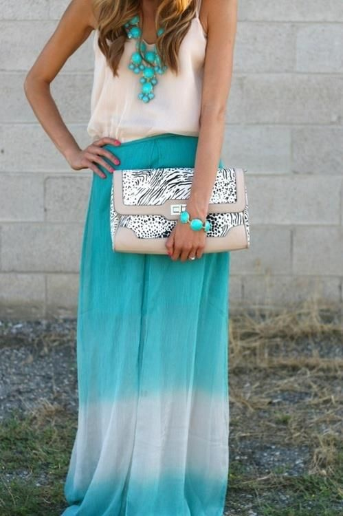 Picture Of trendy bright summer outfits  9