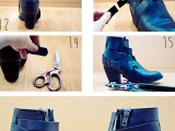 trendy-diy-cut-ankle-boots-5