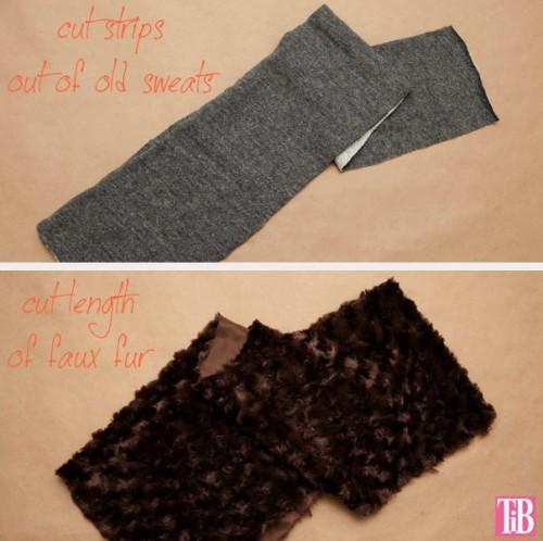 Trendy DIY Faux Fur Scarf