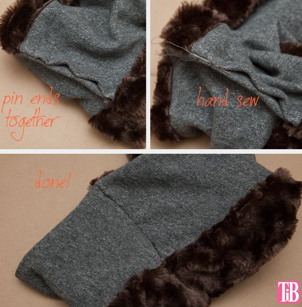 Picture Of trendy diy faux fur scarf  4