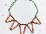 trendy-diy-geometric-copper-necklace-1