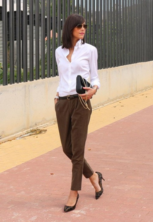 Trendy Fall 2014 Work Outfits for Girls