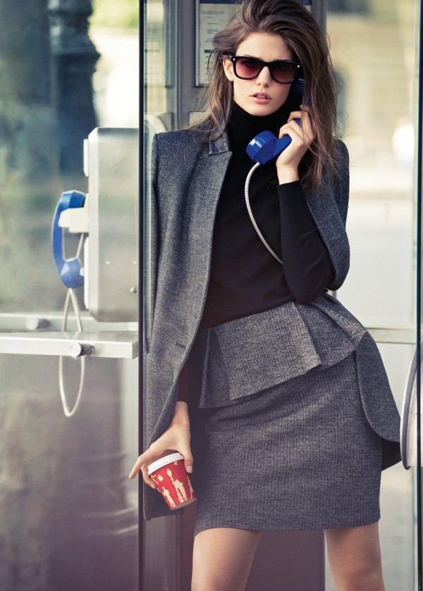 Picture Of trendy fall 2014 work outfits for girls  15
