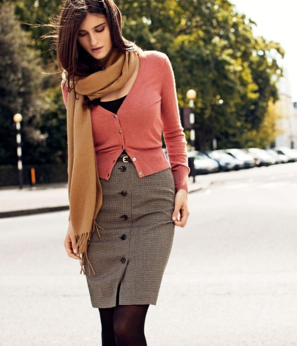 Picture Of trendy fall 2014 work outfits for girls  2