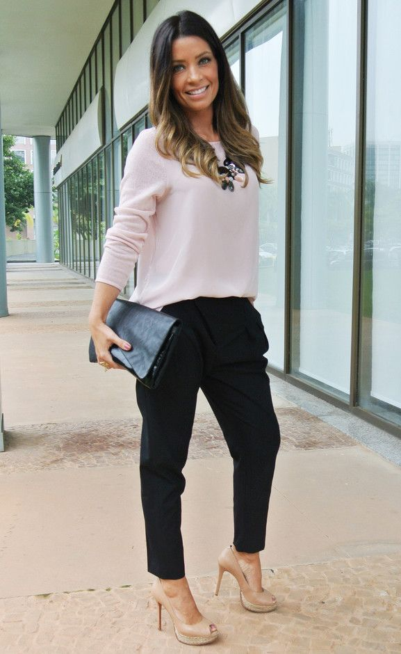 trendy-fall-2014-work-outfits-for--20 Examples Of Semi Formal Pants Attire For Women on semi-formal trousers for women, cocktail attire for women, christmas semi-formal attire for women,