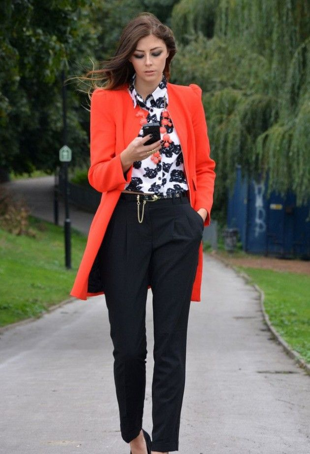 Picture Of trendy fall 2014 work outfits for girls  5