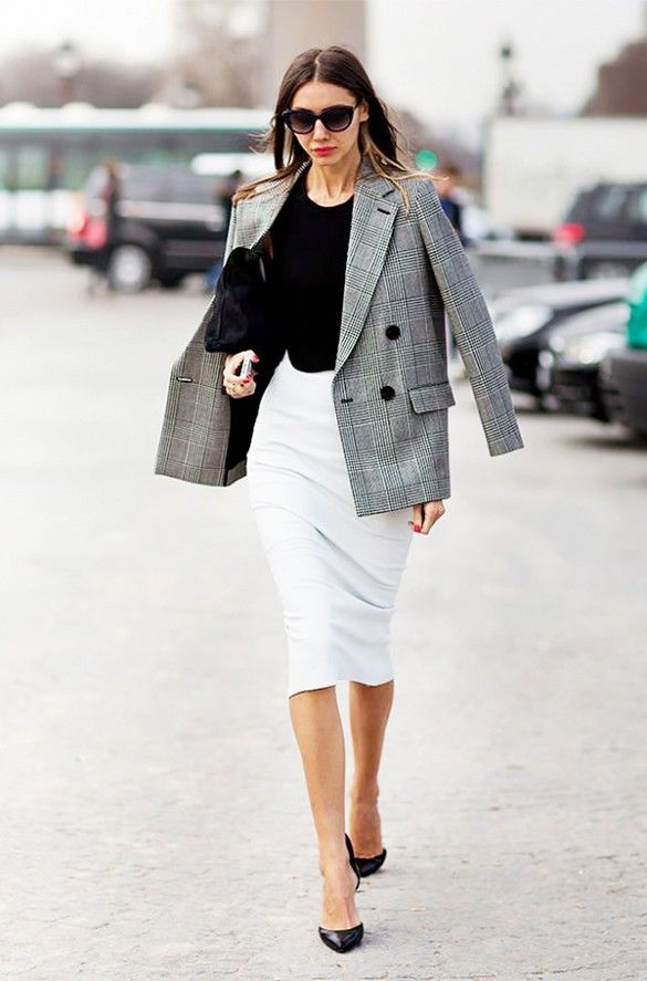 18 Leather Zip Skirt Outfits For This Season