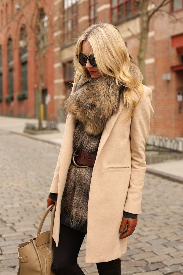 Picture Of trendy fall layer looks with fur  1