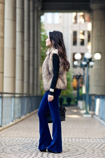 25 Trendy Fall Layer Looks With Fur