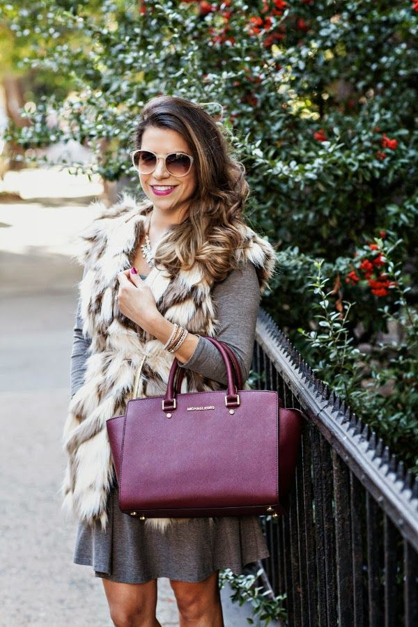 Picture Of trendy fall layer looks with fur  4