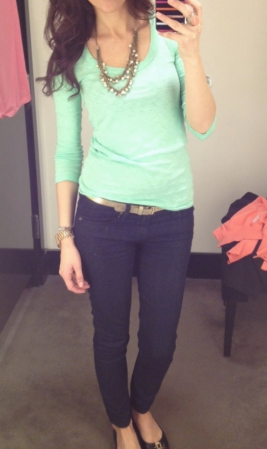 Picture Of trendy mint work outfits  11
