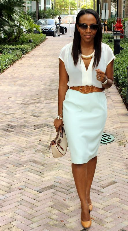 Picture Of trendy mint work outfits  13