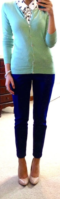 Picture Of trendy mint work outfits  16