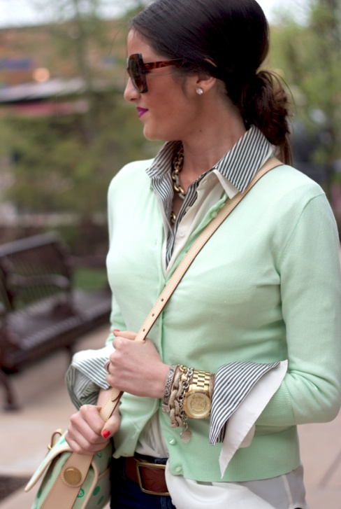 Picture Of trendy mint work outfits  19