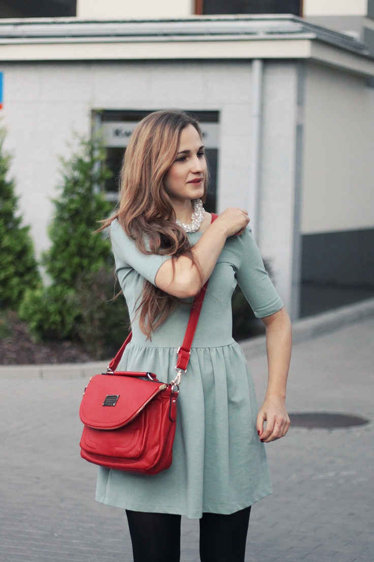 Picture Of trendy mint work outfits  2