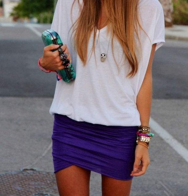 Picture Of trendy outfits with skirts to wear this summer  7