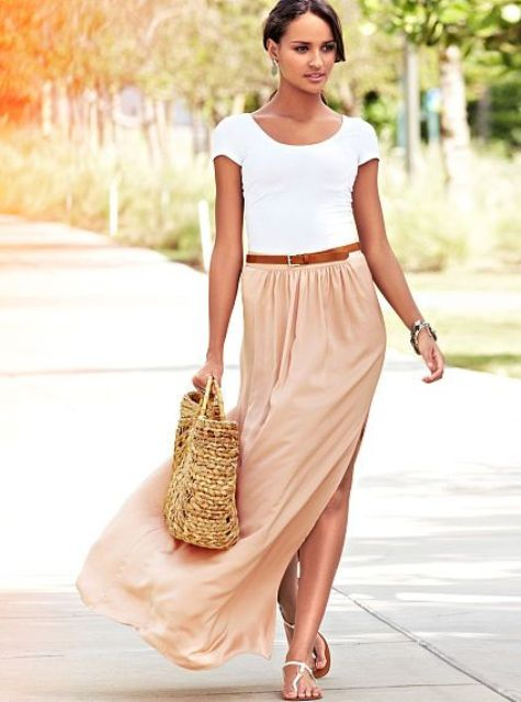 Picture Of trendy outfits with skirts to wear this summer  8