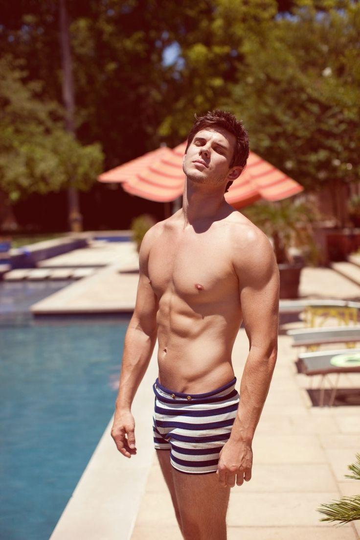 Picture Of trendy short swim trunks for men  16