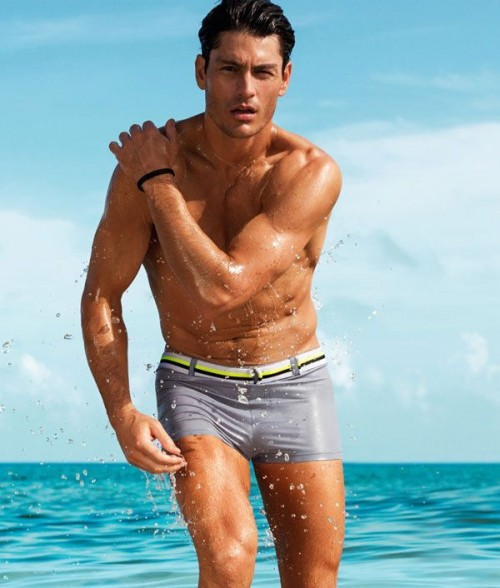 Trendy Short Swim Trunks Ideas For Men