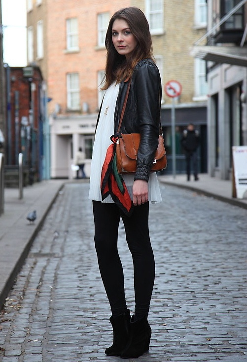 Picture Of trendy wedges boots outfits to rock in the fall  10