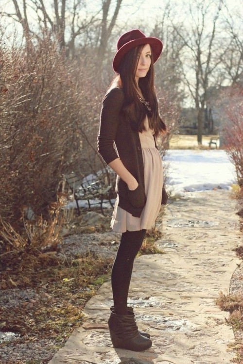 Trendy Wedges Boots Outfits To Rock In The Fall