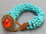turquoise-wrapped-diy-statement-bracelet-4
