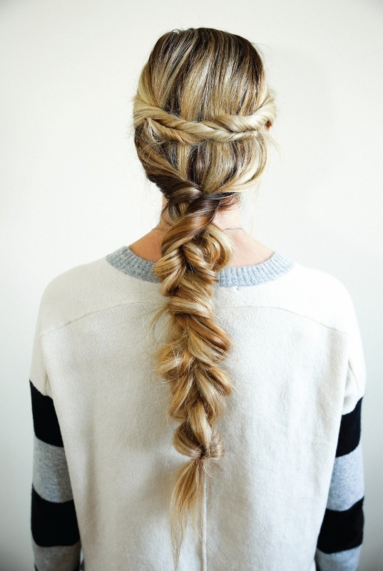 Picture Of unusual diy the twist and pull apart hairstyle  1