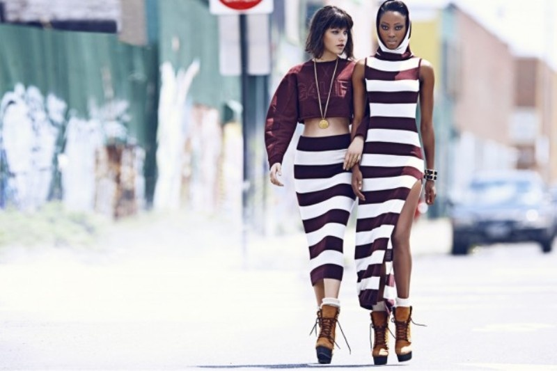 Picture Of urban and chic rihanna for river island fall 2013 campaign  7