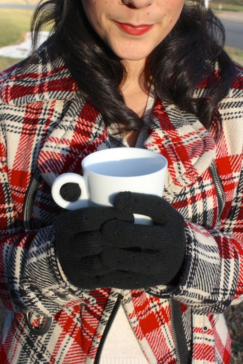 16 Usual And Fingerless DIY Gloves For Fall And Winter