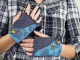 stylish fingerless gloves