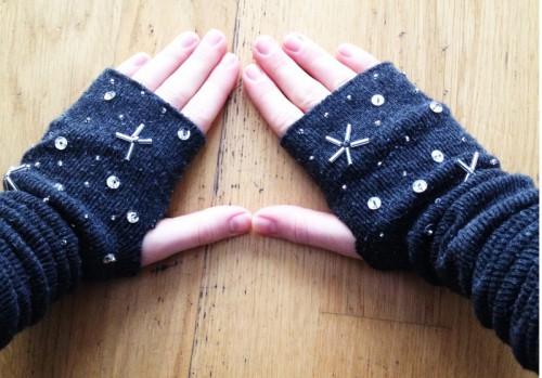 star-inspired gloves (via planb)