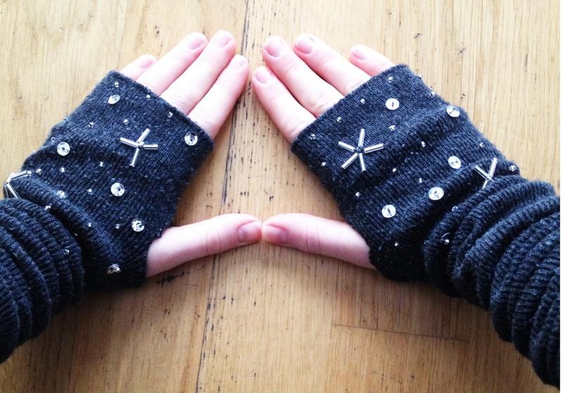 star inspired gloves
