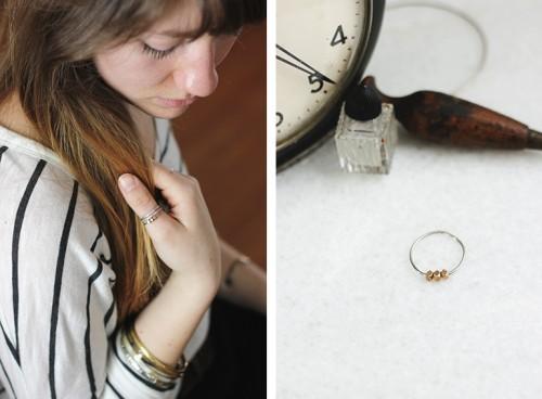 Very Easy Casual DIY Beaded Ring