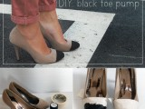 very-easy-diy-black-toe-pump-1