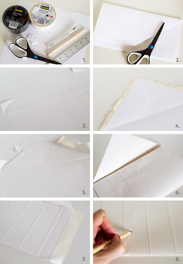 Picture Of very easy diy chevron clutch  4