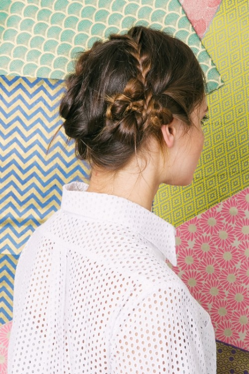 Very Quick DIY Agile Braid Pile For Summer