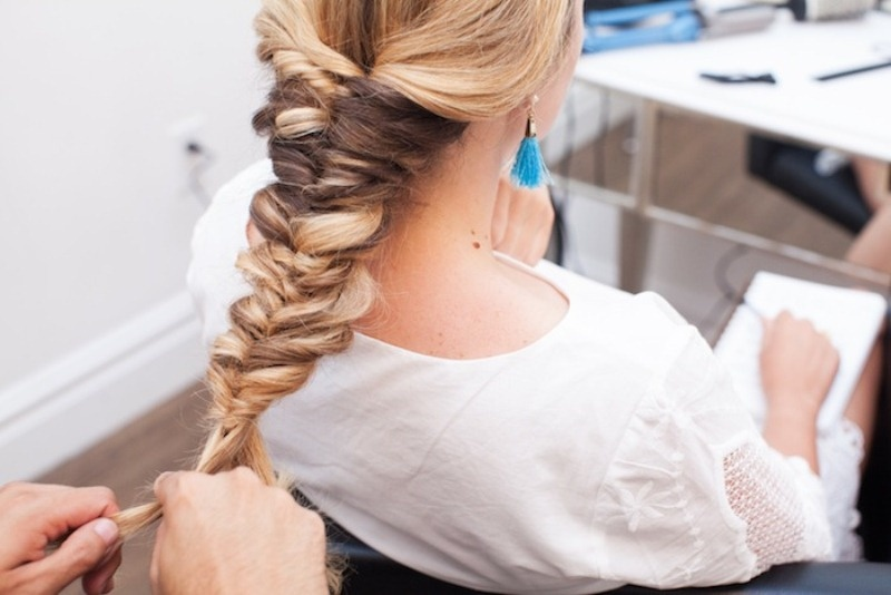 Picture Of voluminous and pretty diy topsy tail braid hairstyle to try  2