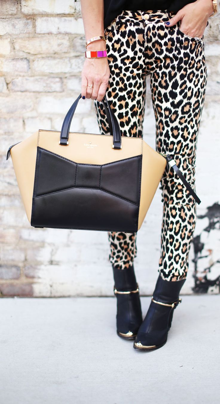 Picture Of wearing animal prints with style ways  2