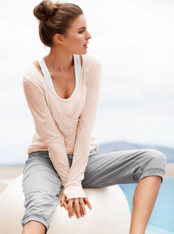Picture Of what to wear to yoga class 21 stunning and comfy ideas  4