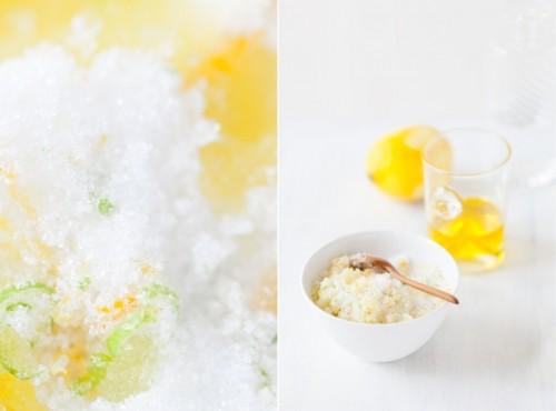 Yummy Smelling And Efficient DIY Citrus Body Scrub